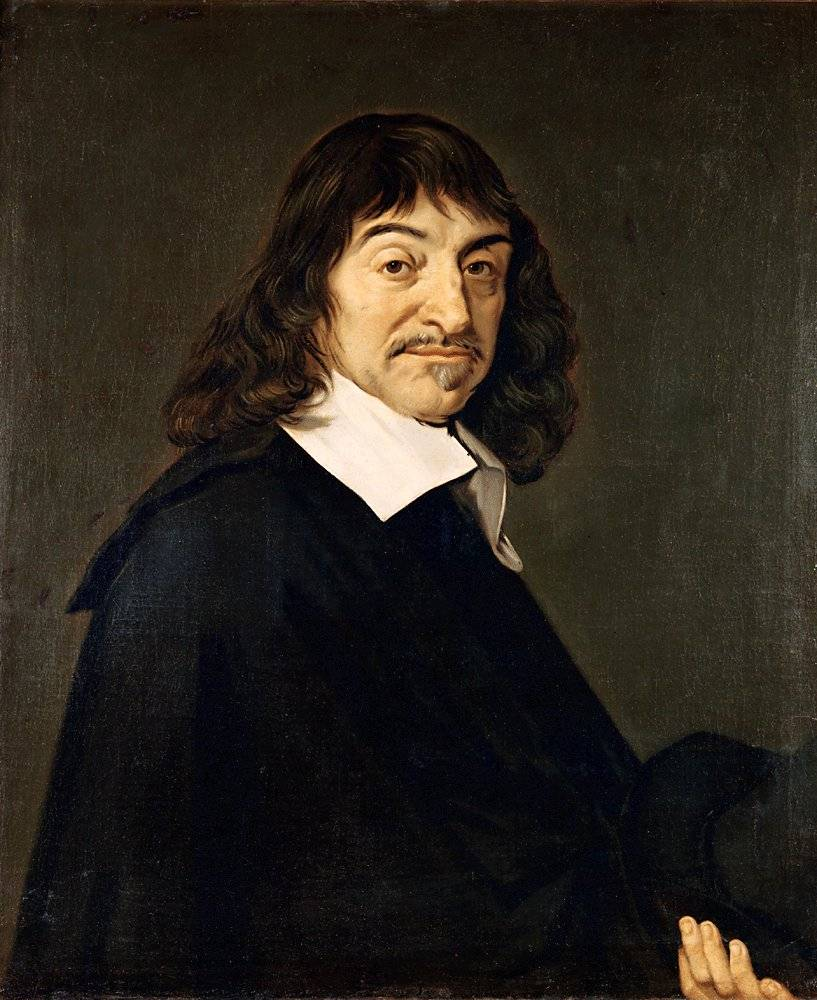 000 Descartes Portret door Frans Hals 1648